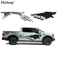 Cool Sticker For Nissan NAVARA Frontier Personality Car Styling Funny DIY Decal Car Whole Body Car Decoration 2pcs Car Styling