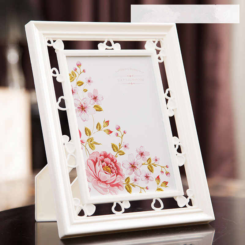 "European Creative Photo Frames Painting Frame For Pictures 6"" 7"" Photos, Home Decor Bedroom Home Decoration Classic Photo Frame"