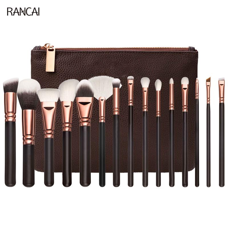 maquiagem  makeup brush 15PCS Brown eye shadow (1)