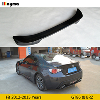 TRD style Carbon fiber rear trunk spoiler Fot Toyota scion GT86 2012 2015 year For Subrau BRZ rear spoiler wing