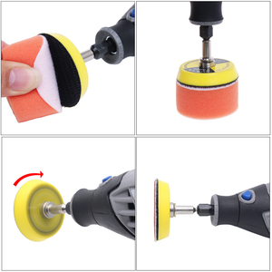Image 5 - 80 600 Mixed Grit 2 Inch Sander Disc Sanding Disk Sand Paper with 50mm Polish Pad Plate for Dremel 3000 Abrasive Tools