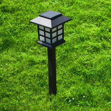 BORUiT Solar Lawn Light Garden Landscape Lights Waterproof Outdoor Solar Torch Outdoor Landscape Decorative Path Lighting(China)