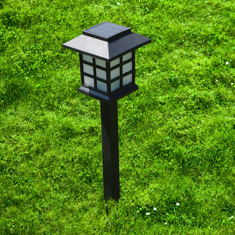 BORUiT Solar Lawn Light Garden Landscape Lights Waterproof Outdoor Solar Torch Outdoor Landscape Decorative Path Lighting