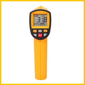 Image 3 - GM1150 Non Contact 12:1 LCD display IR Infrared Digital Temperature Gun Thermometer  30~1150C ( 58~2102F) 0.1~1.00 adjustable