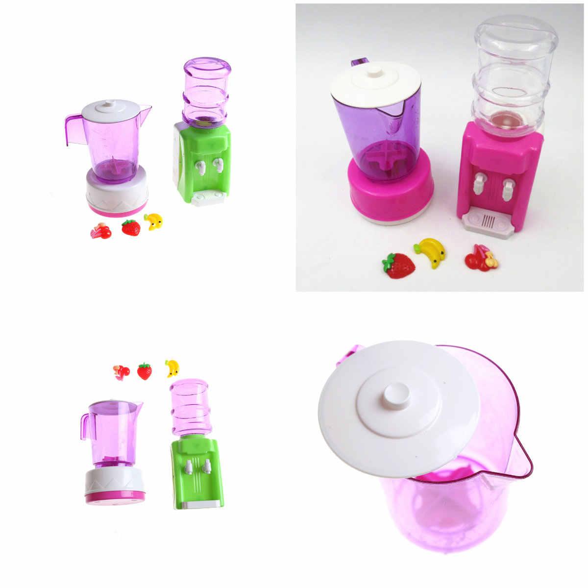 1 Набор кукольный домик Миниатюрная игрушка мини диспенсер для воды набор кукольная еда кухонные аксессуары для гостиной 1:12 весы