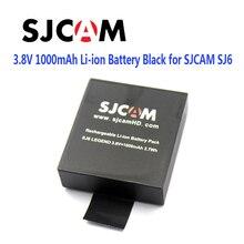 100% Оригинал SJCAM Бренд 3.8 В 1000 мАч 3.7Wh Литий-Ионная Аккумуляторная Батарея Черный для SJCAM SJ6 ЛЕГЕНДА Спорта DV Камеры