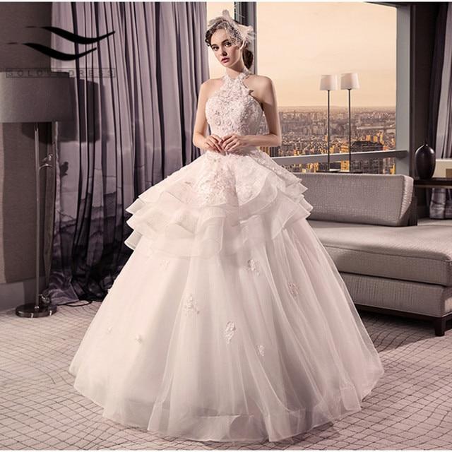 Wedding Dress Ball Gown Style: Aliexpress.com : Buy 2018 New Style Halter Beading