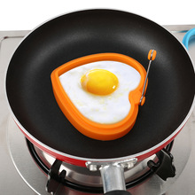 5 Types Breakfast Creative Silicone Multi Type Egg Mold Fried Egg Mold Pancake Mold Kids DIY cooking tools Whosale Sale P20