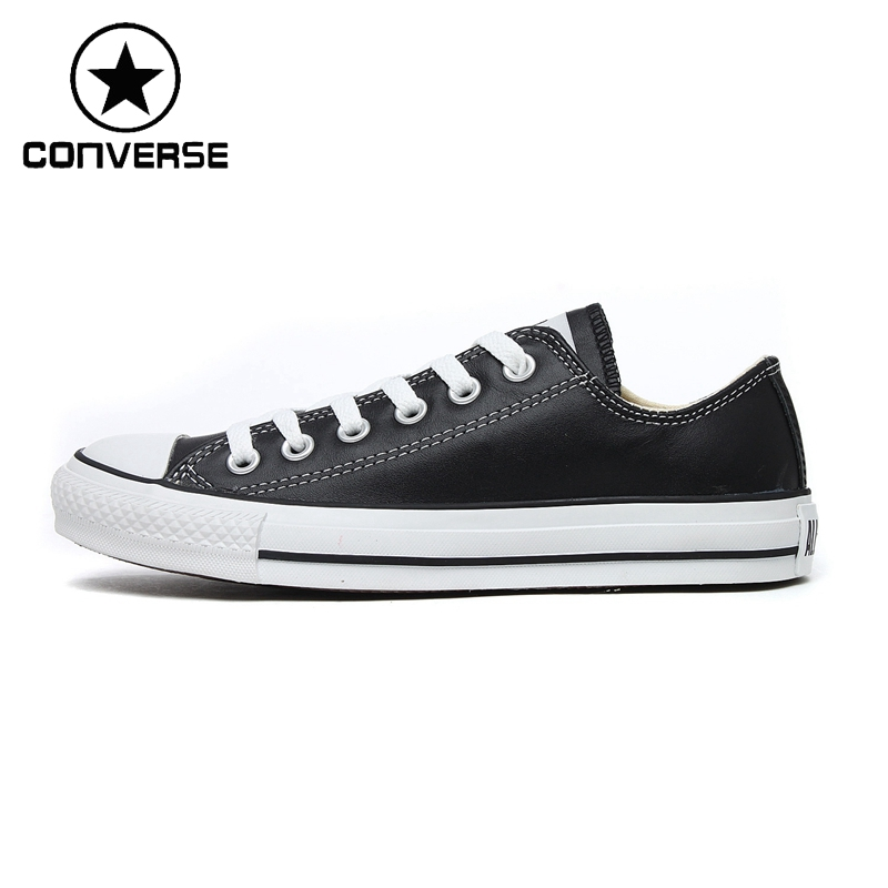 Original Converse Unisex Classic Leather Skateboarding Shoes Low top  Sneakser. US  52.69. Original Converse all star shoes Chuck Taylor low  style men s ... 0ed577313