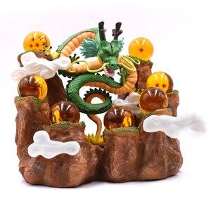 Image 4 - Anime Dragon Ball Z Draak Shenron Mountain Pvc Actiefiguren Dragon Ball Z Collectible Model Toys Dbz Esferas Del Draak speelgoed
