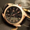 YAZOLE Reloj de Los Hombres de Primeras Marcas de Lujo de negocios Hombre Reloj de Cuarzo Reloj de Pulsera de Ocio de Moda de Cuero reloj de cuarzo Relogios masculino