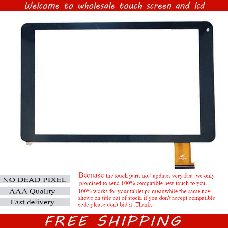 New Touch Screen Digitizer For 10.1 PRESTIGIO MultiPad Muze 5001 3G PMT5001 Touch Panel Tablet Glass Sensor Free Shipping 10pcs lot new touch screen digitizer for 7 prestigio multipad wize 3027 pmt3027 tablet touch panel glass sensor replacement