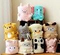 Envío gratis 2015 Nuevos Productos formas lindos animales volumen Baojin bebé adulto manta rodilla manta