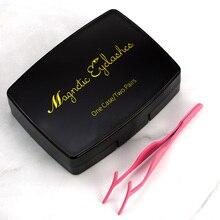 VICILEY 6D Magnetic Eyeashes Super Soft Eyelash Full Strip False Lash Magnet Lashes with Mirror and tweezer Box Acrylic -SCT06