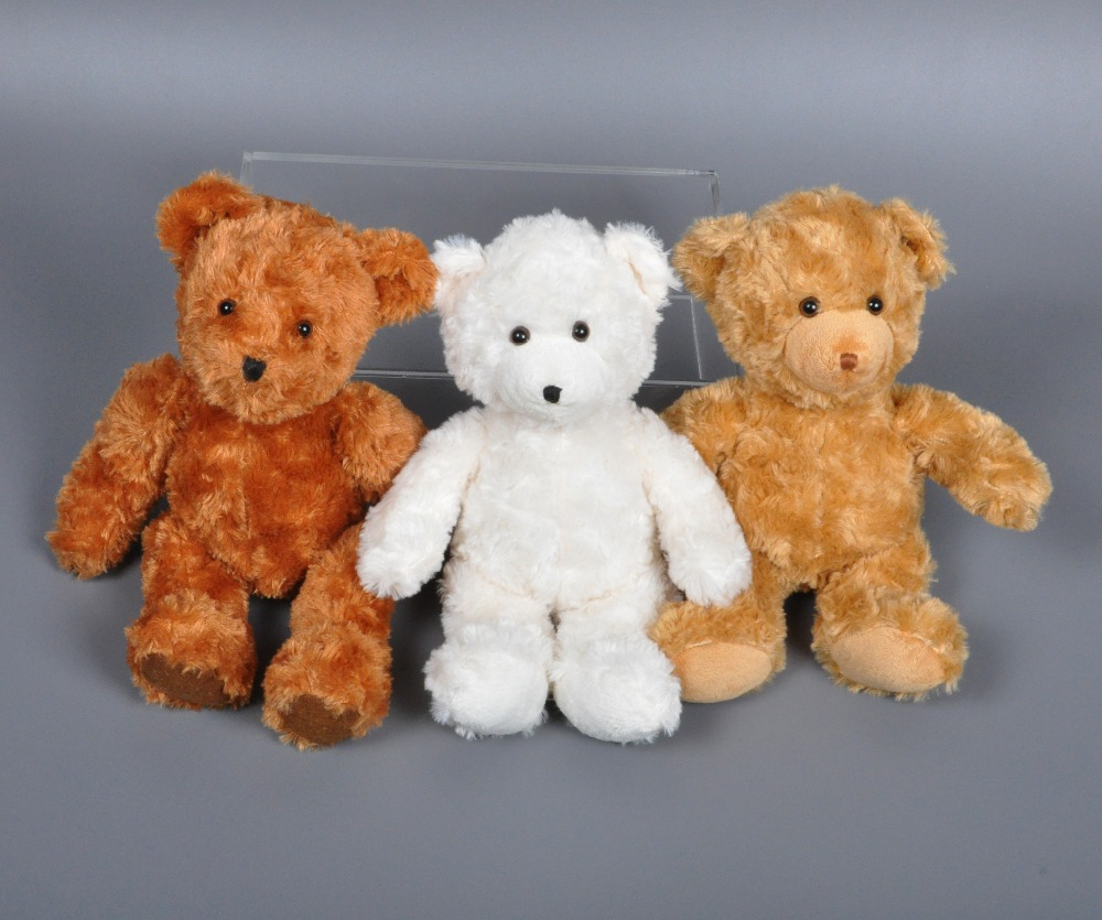 23cm appease teddy bear plush <font><b>toy</b></font> Cartoon Polar bear stuffed doll British Aristocrat Teddy Bear kids <font><b>toys</b></font> <font><b>mamas</b></font> <font><b>papas</b></font> baby <font><b>toys</b></font> image