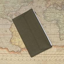 Купить онлайн Fromthenon ретро сумка для хранения для Midori Traveler's Тетрадь планировщик карман на молнии Держатель для карт файл мешок Винтаж школьные принадлежности