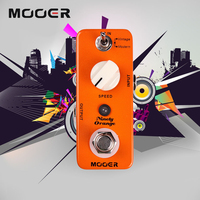 Mooer Analog Phasing Tone Micro Ninety Orange Phaser Electric Guitar Effect Pedal True Bypass Vintage Modern
