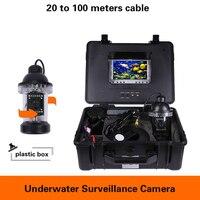 360 ° Rotation Unterwasser Angeln kamera industrielle Inspektion überwachung kamera 20 zu 100 meter Fisch Finder Kanalisation Video rekord-in Überwachungskameras aus Sicherheit und Schutz bei