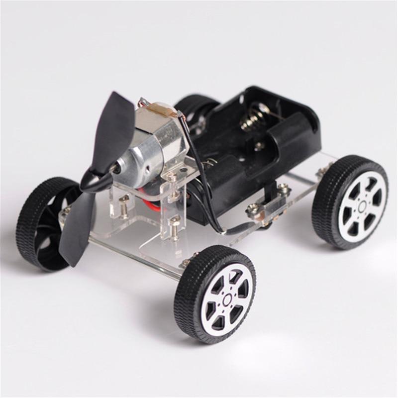 High quality diy robot smart mini wind car