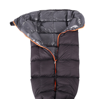 Outdoor Camping Winter Down Under Quilt Sleeping Bag for Hammock Backpacking