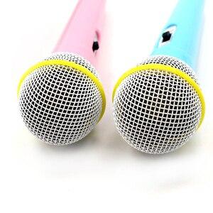 Рождественский подарок, музыкальный инструмент, игрушка с проводным микрофоном, караоке, пение, детский Забавный подарок, музыкальная детс...