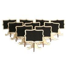 10 шт мини деревянная маленькая Свадебная доска для доски с номером доски