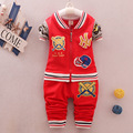 Cotton Spring & Autumn Boys Girls Clothing Set Newborn Clothes Set Baby Boy Clothing (Long Sleeve Blouse + Pants) Baby Set