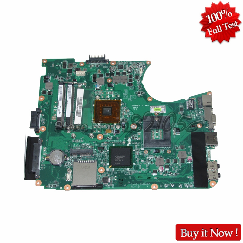 NOKOTION Laptop Motherboard For toshiba satellite L655 Mainboard A000078940 DA0BL8MB6B0 REV B GL40 HD graphics DDR3 воблер storm arashi top walker awc 612