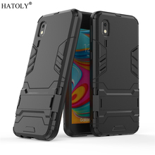 For Samsung Galaxy A2 Core Case Robot Armor Hard PC Back Phone Cover for