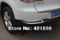 For VW Tiguan 2009 2010 2011 2012 2013 2014 2015 ABS chrome Rear Fog Light cover trim 2 pcs