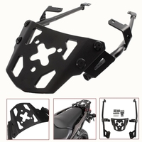 Motorcycle Black Top Rear Luggage Rack Carrier Luggage Rack Fender Support for 2016 2017 Honda NC700X NC750X NC700 NC750 X