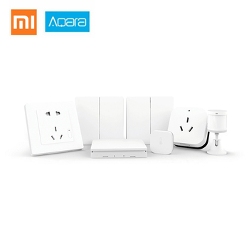 Aqara Smart Home Bedroom Kit Aqara Air Conditioner Temperature Humidity Body Sensor Wall Switch/Socket Wireless switches