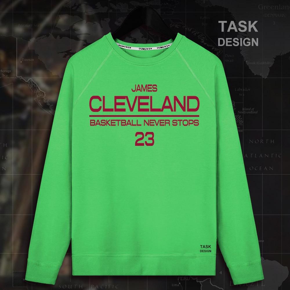 LeBron James Men pullovers hoodies sweatshirt LBJ King Clothing streetwear casual tracksuit Cleveland USA basketballer star 01
