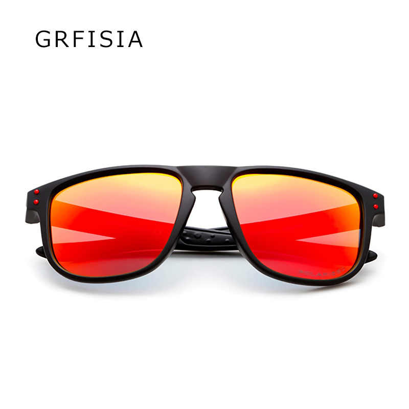 5707ad11a56 ... Activity promotion is cheap Sunglasses Men Polarized UV Goggles Drive  Sun Glasses Red Blue Mirror Shades ...