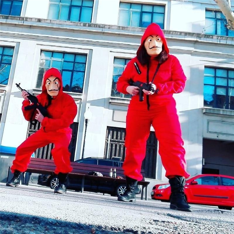 La Casa De Papel Salvador Dali Cosplay Costume Adult Salvador Dali Cosplay Movie Costume