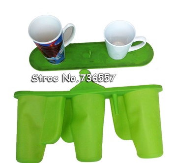 Freeshipping 17OZ/12OZ Multiplepurpose Mug Clamp Silicone Rubber Conic Mug Fixture Clamp For Conical Mugs 3D Sublimation