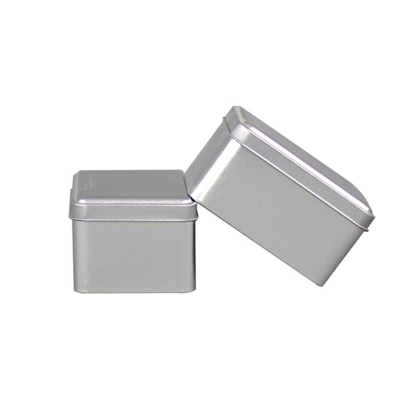 Xin Jia Yi Packaging Bulk Sliver Metal Boxes Rectangular Tiny Mints Spice Cookies Pill Wedding Party Universal Tin Can
