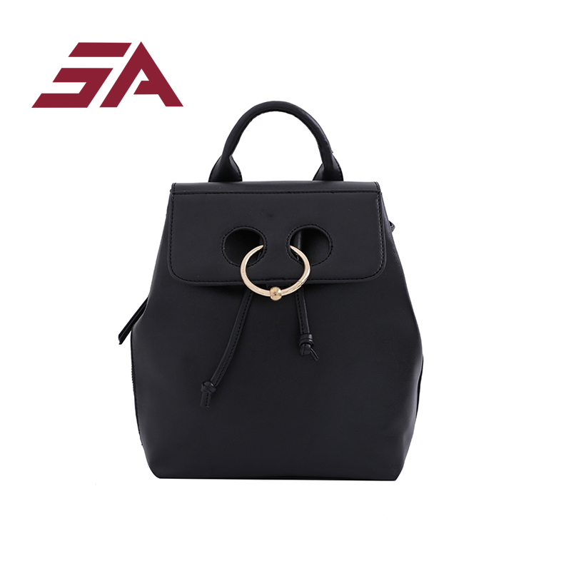 SA 2018 Fashion Women Backpack High Quality PU Leather Backpacks for Teenage Girls Female School Bag Bagpack casual fashion bag