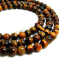 8mm Tibetan Buddhism 108 Tiger's eye Prayer Bead Mala Necklace