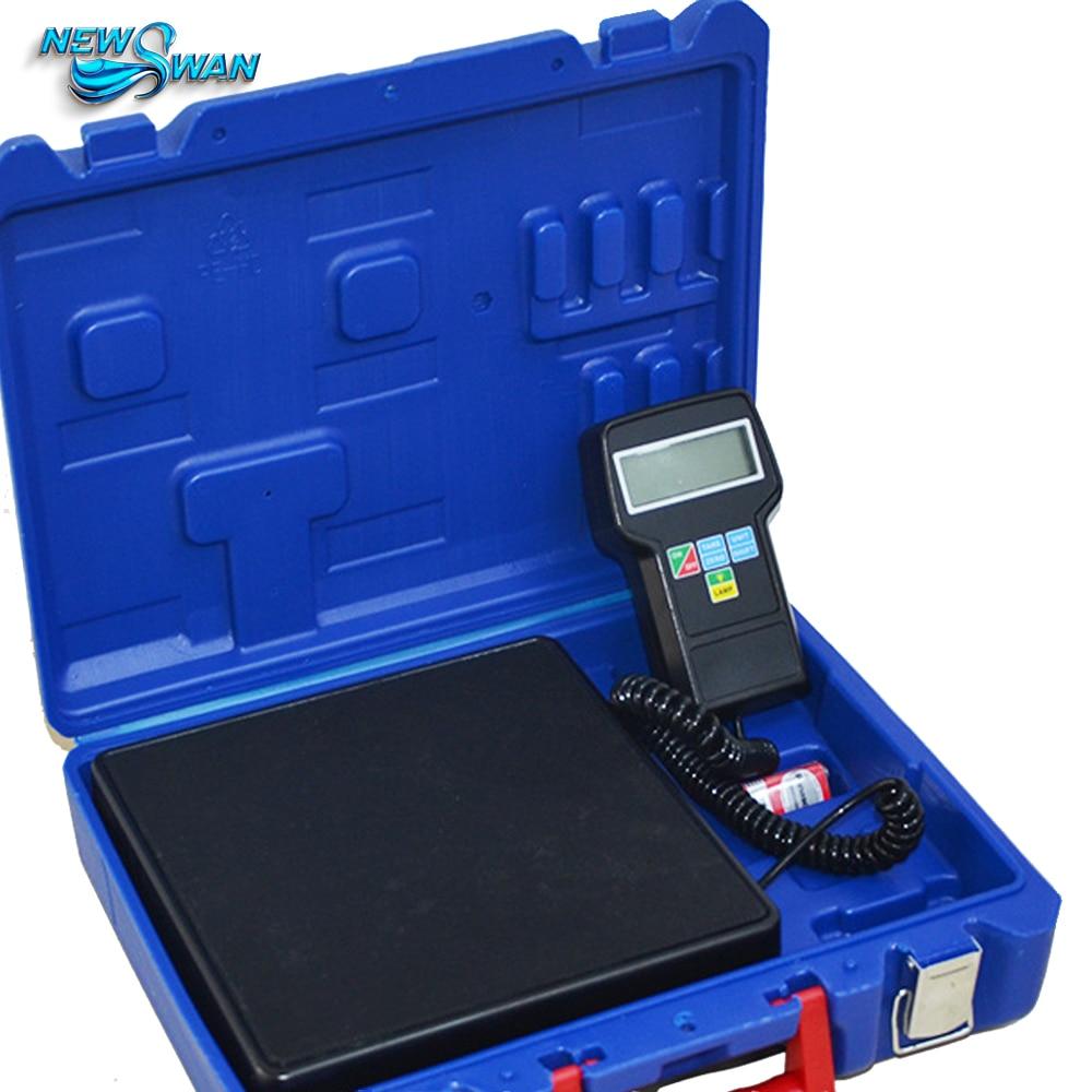 RCS-7040 elektronikus hűtőközeg töltő mérleg hűtő elektronika precíziós kalibrálás súly kalibrációs mérleg súlyok