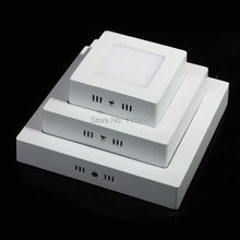 Square 9W/15W/25W LED Ceiling Light Cool White/Warm White AC85-265V Panel Light Free Shipping