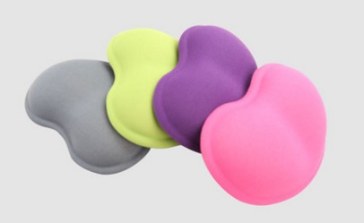 Tapis de souris Ultra mince pour support de poignet en Gel et tissu