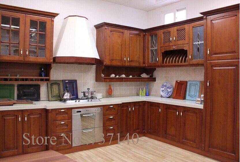 Mobilier de cuisine en bois massif meuble de cuisine en for Kitchen cabinets quebec