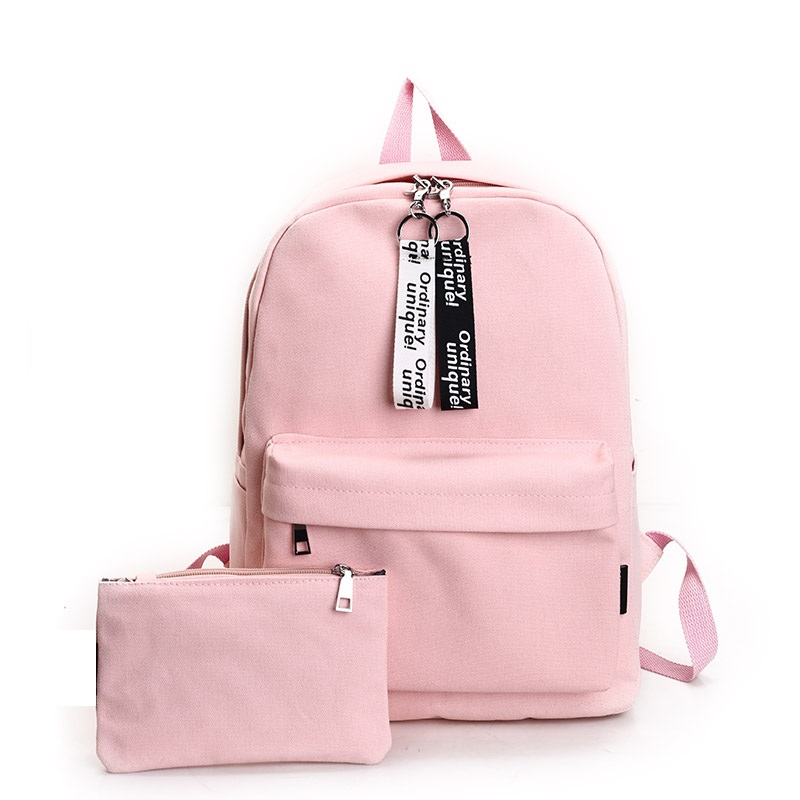 2017 New Cool Stylish Korean Women Canvas Backpack Casual Girl Backpack Kanken Rucksack School Backpack Mochila