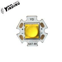 1PCS Cree XLamp MTG2 25W Hight Power LED 9090 high power led lamp bead 3000-6000K White searchlight lamp bead