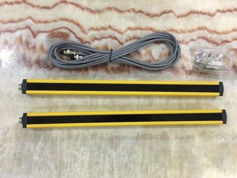 transistor npn normalmente fechado 8 vigas 40 mm cortina de luz de seguranca ralar protecao