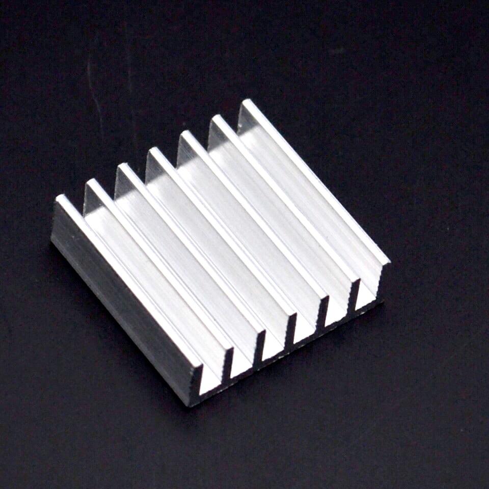 5PCS Flat Ceramic Heat Sink Cooler Radiator CPU LED High Conductive Dissipador