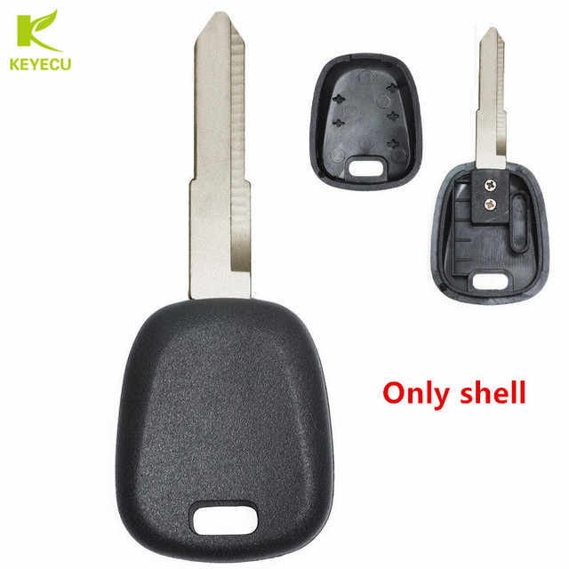 Keyecu 2pcs New Replacement Transponder Key Case Shell For Suzuki