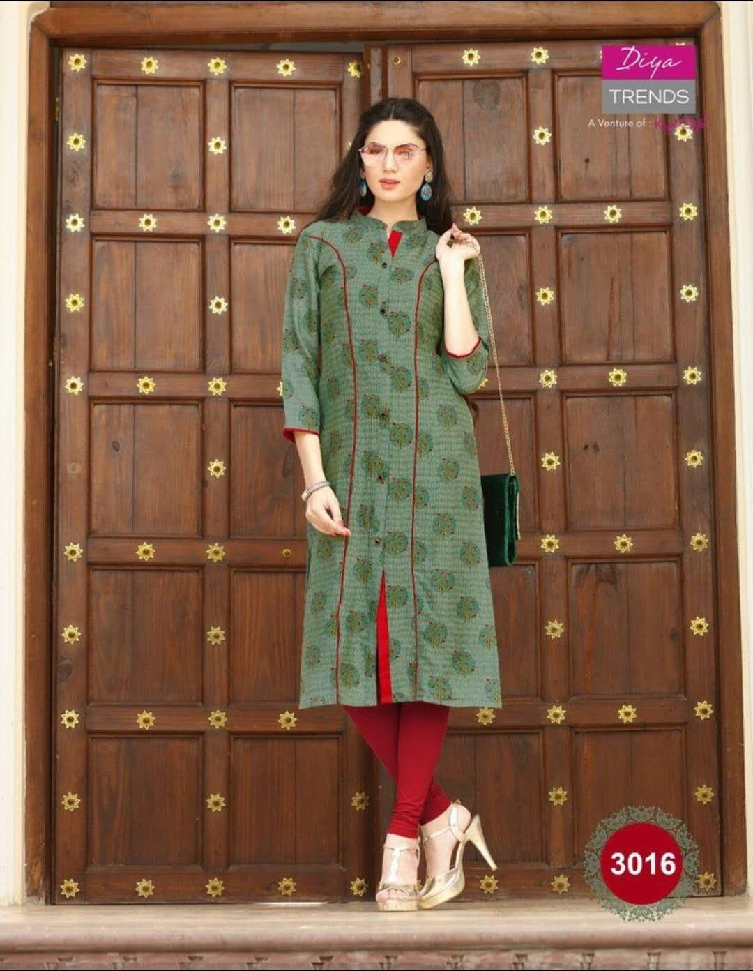 Indian Traditional Kurti 3 Quarter Sleeve Cotton Kurta Bollywood Designer Stylish Tunic Printed Top Women Dress Daily Party Wear