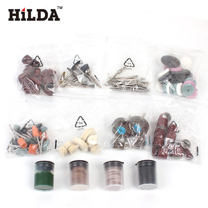 Image 3 - HILDA 248PCS 쉬운 절단을위한 로타리 공구 액세서리 Hilda Dremel 용 연삭 샌딩 조각 및 연마 도구 조합